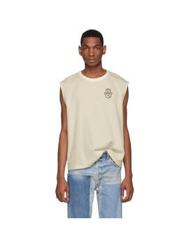 Ssense Exclusive Beige Peace T Shirt by St Henri