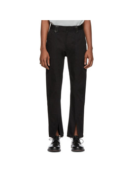 Ssense Exclusive Black Order Pants by St Henri