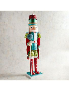 "Whimsy 32.5"" Nutcracker by Pier1 Imports"