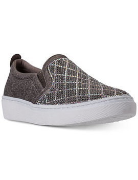 Women's Street   Goldie Diamond Darling Casual Sneakers From Finish Line by Skechers