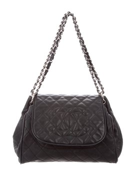 Caviar Timeless Accordion Flap Bag by Chanel