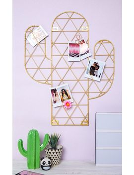 Sass And Belle Cactus Wire Wall Grid Photo Holder by Prettylittlething