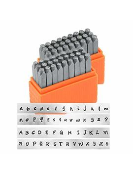Impress Art  Basic Bridgette Uppercase And Lowercase Letter Metal Stamp Set by Impress Art