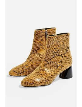 Blair Heeled Ankle Boots by Topshop