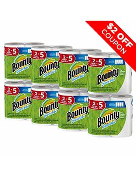 Bounty Quick Size Paper Towels, 16 Family Rolls, White by Bounty