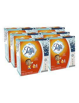 Puffs, Everyday Non Lotion Facial Tissues, 24 Cubes, 64 Tissues Per Box (Packaging May Vary) by Puffs