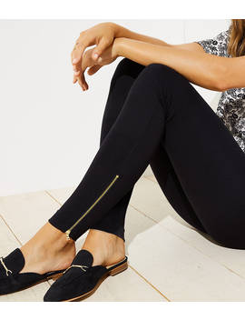 Leggings In Ankle Zip by Loft