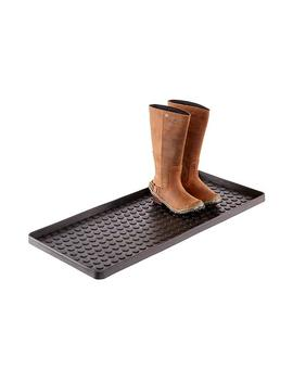 Black Large Shoe & Boot Tray by Container Store