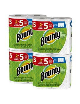 Bounty Select A Size Paper Towels, White, Huge Roll, 8 Count by Bounty