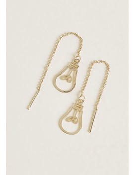 Belle Of The Bulb Threader Earrings by Modcloth