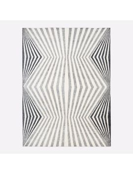 Optic Lines Rug by West Elm