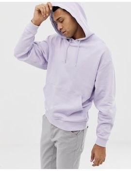 Asos Design Oversized Hoodie In Lilac by Asos Design