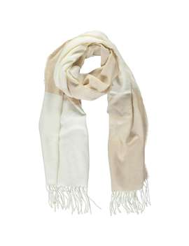 Contrast Trim Oblong Scarf by Forever 21