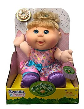 Cabbage Patch Kids Sweets 'n Treats Baby Doll (Blonde, Blue Eyes) by Cabbage Patch Kids