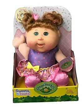 Cabbage Patch Kids Sweets 'n Treats Baby Doll (Med. Blonde, Green Eyes) by Cabbage Patch Kids