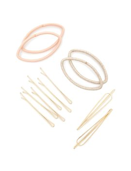 Bobby Pin & Hair Tie Set by Forever 21