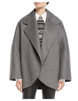 Oversized Wool Jacket by Michael Kors Collection