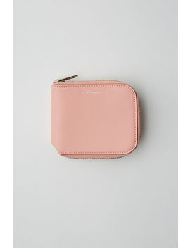 Compact Wallet Powder Pink by Acne Studios