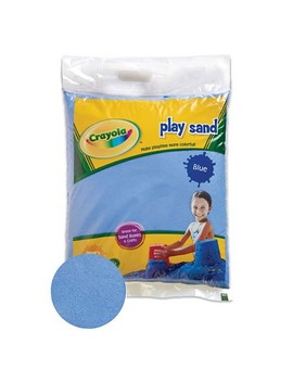 Crayola Blue Play Sand 20 Pound Bag by Crayola