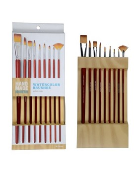 Hand Made Modern   Watercolor Brushes, 9ct by Hand Made Modern