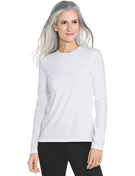 Coolibar Upf 50+ Women's Long Sleeve Everyday T Shirt   Sun Protective by Coolibar