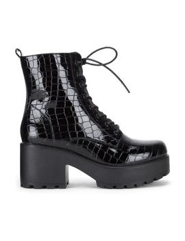 Gin Platform Military Croc Boots by Koi Footwear
