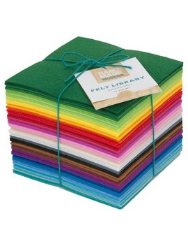 Hand Made Modern Felt Squares Assorted Colors 56ct by Shop This Collection