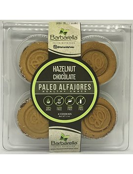 Paleo Hazelnut Alfajores, 4 Cookies (Pack Of 4). 16 Alfajores In Total by Barbarella Paleo