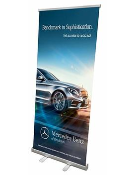 "Signworld 33"" Retractable Roll Up Banner Stand Display by Signworld"