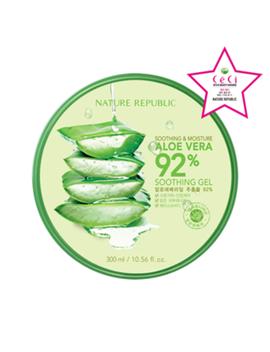 Nature Republic   Soothing & Moisture Aloe Vera 92 Percents Soothing Gel by Nature Republic