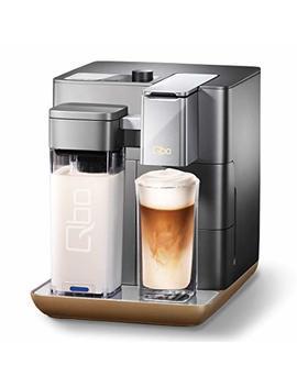 Qbo You Rista Coffee Capsule Machine Urban Gray Mat + Milkm Aster by Amazon