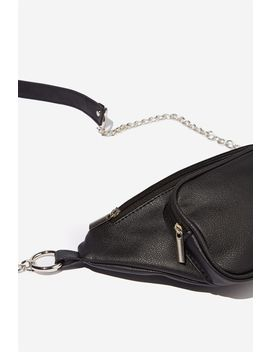 Pu Belt Bag W/Chain by Cotton On