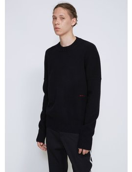 Core Cashmere Crewneck Sweater by Calvin Klein 205 W39 Nyc