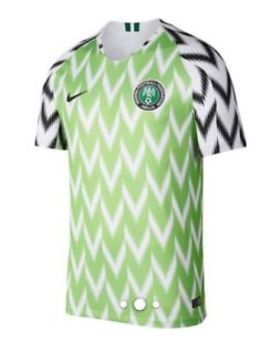 Nigeria Green And White Nike World Cup Home Football Shirt Russia 2018 by Ebay Seller