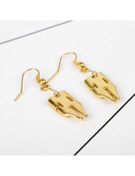 Jo Jo's Bizarre Adventure Kishibe Rohan Golden Earrings Ear Stud Cosplay Gift by Unbranded