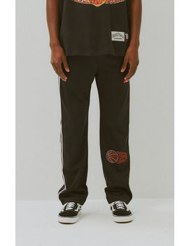 Basketball Skateboards Basketball Snap Button Track Pants by Pacsun