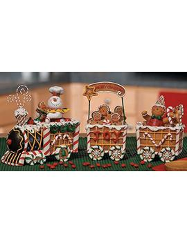The Gingerbread Express Train   Holiday Decor by Fun Express