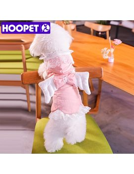 Hoopet Pet Dog Clothes Warm Down Hoodies For Chihuahua Small Medium Dogs Puppy Christmas Coat by Hoopet