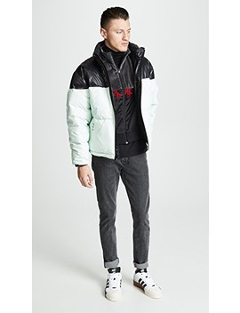 Disjoin Puffer Coat by Adidas Originals By Alexander Wang