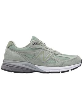 New Balance Mens M990 Sm4 990 Silver Mint Made In Usa Running Sneakers 8 13 by New Balance