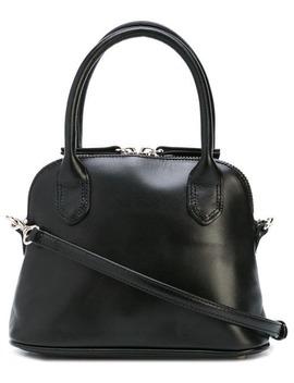 Round Top Handle Crossbody Bag by Y's
