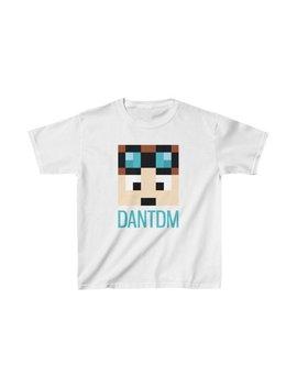 Kids Dan Tdm Minecraft T Shirt Dan Tdm Merch by Etsy