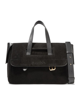 Tool Leather Trimmed Suede Tote by Jw Anderson