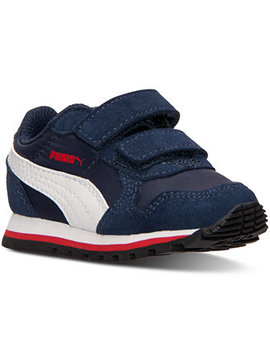 Toddler Boys' St Runner Nylon V Casual Sneakers From Finish Line by Puma