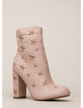 Reach For The Stars Chunky Booties by Go Jane