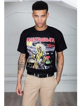 Iron Maiden Killers Cover Unisex T Shirt by Cosmic Saint