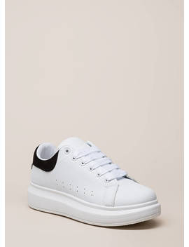 Tennis Phenom Platform Sneakers by Go Jane