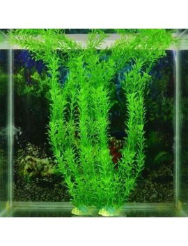 New 37 Cm Artificial Underwater Plants Aquarium Fish Tank Decoration Green Purple Water Grass Viewing Decorations by Ali Express