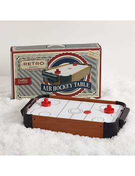 Retro Air Hockey Table by Dunelm