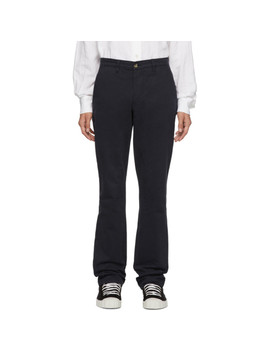 Navy Aime Classic Tailored Trousers by Éditions M.R